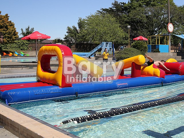 Giant Inflatable Floating Water Obstacle Course For Water Park BY-AR-001